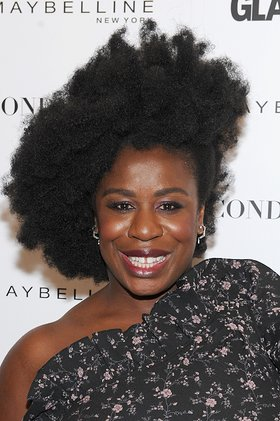 Uzo Aduba attends Glamour's The Girl Project on the International Day of the Girl