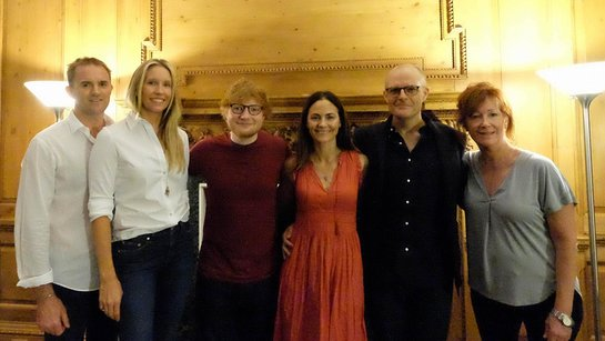 Ed Sheeran: MusiCares House Concert Benefits Hurricane Relief