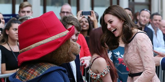 The Duchess Of Cambridge Meets Paddington Bear