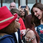Royals Join Paddington Bear For Charity Train Ride