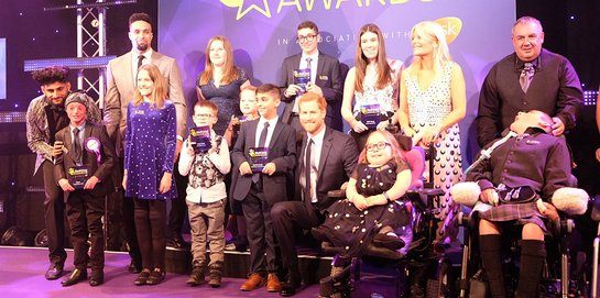 Prince Harry Attends 2017 WellChild Awards