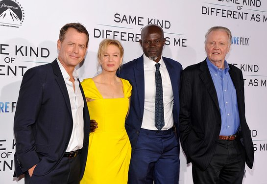 Greg Kinnear, Renee Zellweger, Djimon Hounsou and Jon Voight