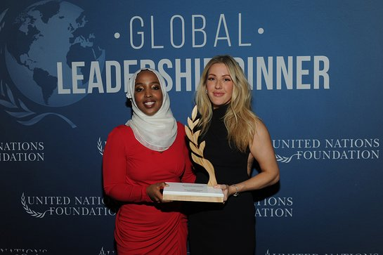 Munira Khalif and Ellie Goulding