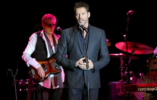 Harry Connick Jr Speaks At Little Kids Rock Benefit