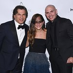 Pitbull Wows The Crowd At Daniel E. Straus CareOne Masquerade Ball