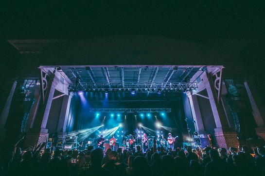 Zac Brown Band at the Southern Ground Amphitheater in Fayetteville, Georgia