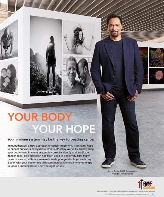 Jimmy Smits Joins Stand Up To Cancer In New Public Service Announcement