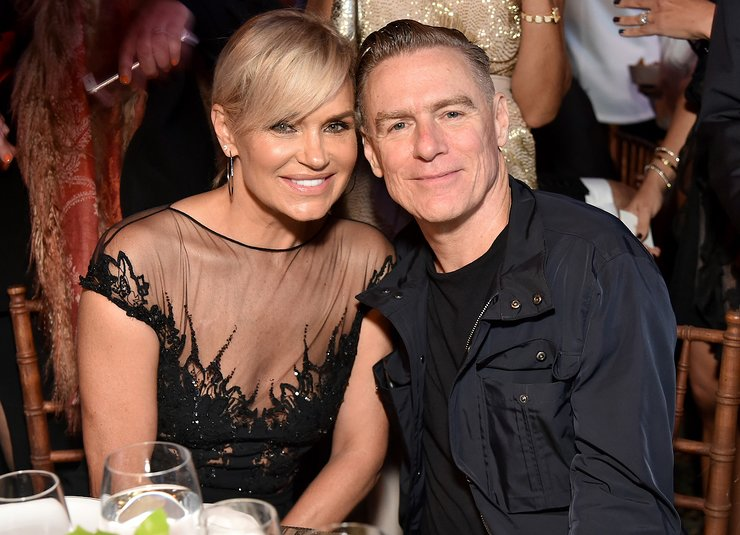 Yolanda Hadid and Bryan Adams