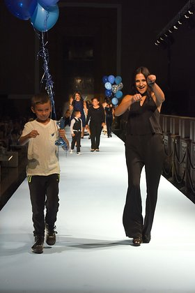 Autism Speaks Into The Blue Fashion Gala
