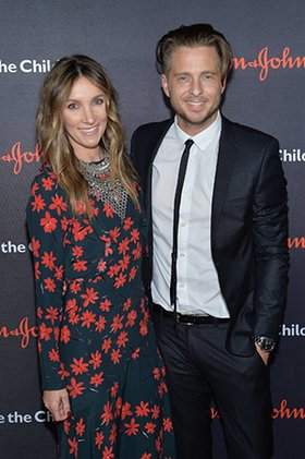 Genevieve Tedder and Songwriter Ryan Tedder attend the 5th Annual Save the Children Illumination Gala