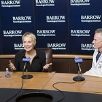 Sharon Stone Praises Barrow Neurological Institute's New Leader