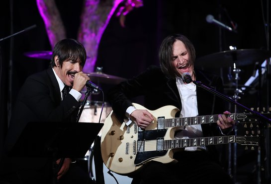 Anthony Kiedis and Josh Klinghoffer
