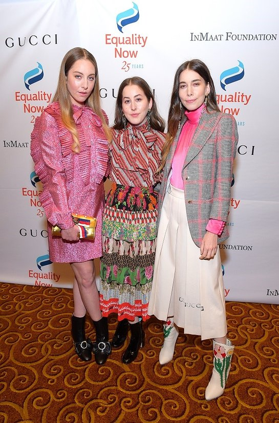 Haim Attends Make Equality Reality Gala