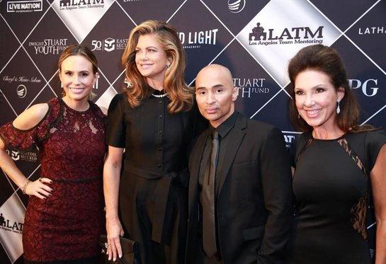 Keltie Knight, Kathy Ireland, William Figueroa , and Maria Melton