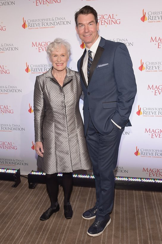 Jerry O'Connel and Glenn Close