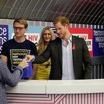 Prince Harry Launches #HIVTestWeek