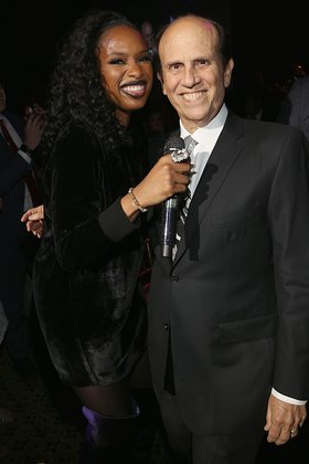 Jennifer Hudson and Michael Milken
