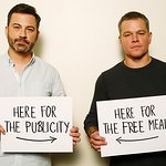 Sit Down To An Uncomfortable Meal With Matt Damon And Jimmy Kimmel