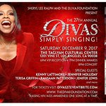 27th Annual Divas Simply Singing Event