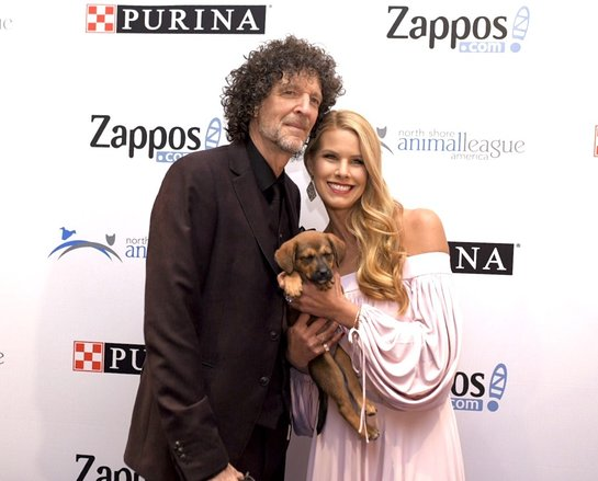 Beth and Howard Stern at 2017 Get Your Rescue On Celebrity Gala