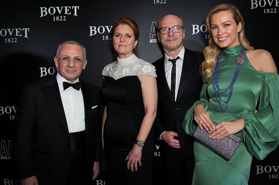 Pascal Raffy, The Duchess of York, Paul Haggis and Petra Nemcova