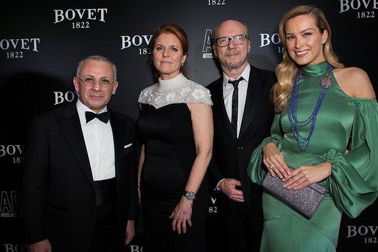 Pascal Raffy, The Duchess of York, Paul Haggis and Petra Nemcova