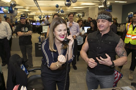 Drew Barrymore raising funds for Baby2Baby