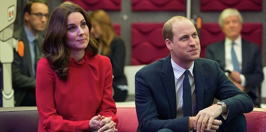 Duke and Duchess of Cambridge attend the Children's Global Media Summit in Manchester