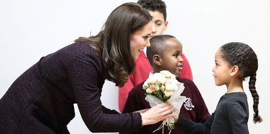 The Duchess of Cambridge visits the Rugby Portobello Trust