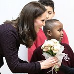 Duchess Of Cambridge Visits The Rugby Portobello Trust