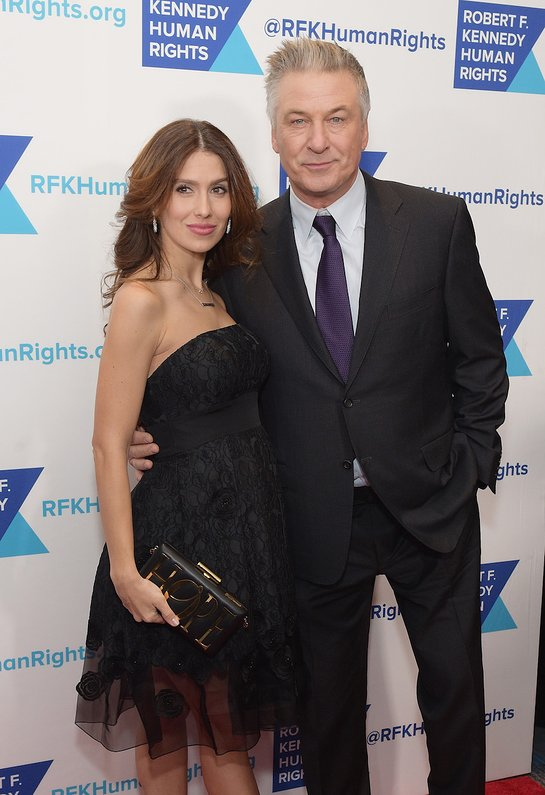 Hilaria and Alec Baldwin Attend Ripple of Hope Awards dinner
