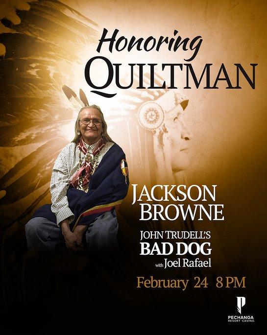Jackson Browne announces a benefit concert at Pechanga Resort & Casino
