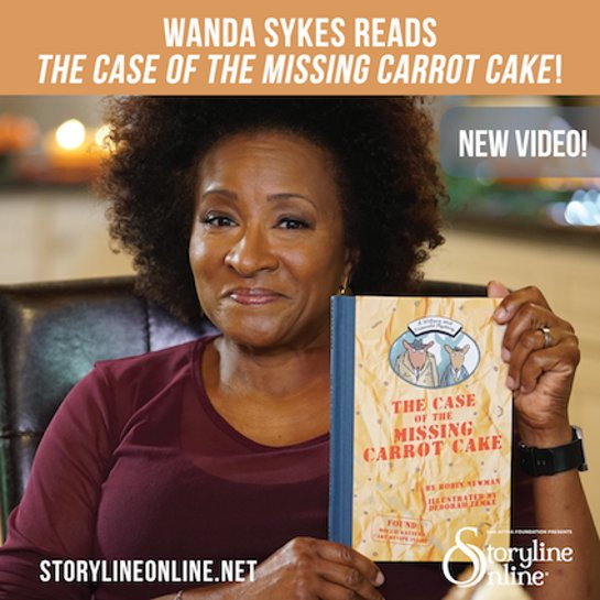 Wanda Sykes reads The Case of the Missing Carrot Cake