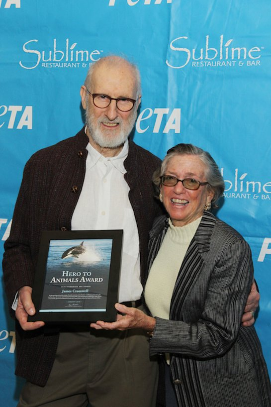 James Cromwell Honored By PETA