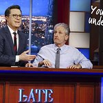 Your Chance To Live Under Stephen Colbert's Desk With Jon Stewart