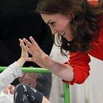 The Duchess Of Cambridge Visits Great Ormond Street Hospital