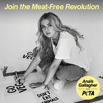 Anaïs Gallagher Fronts Meat-Free Revolution Campaign