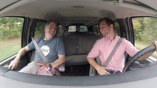 Jeff Foxworthy Takes a Slow Ride to Help Non-Profit Raise Money for New Vans