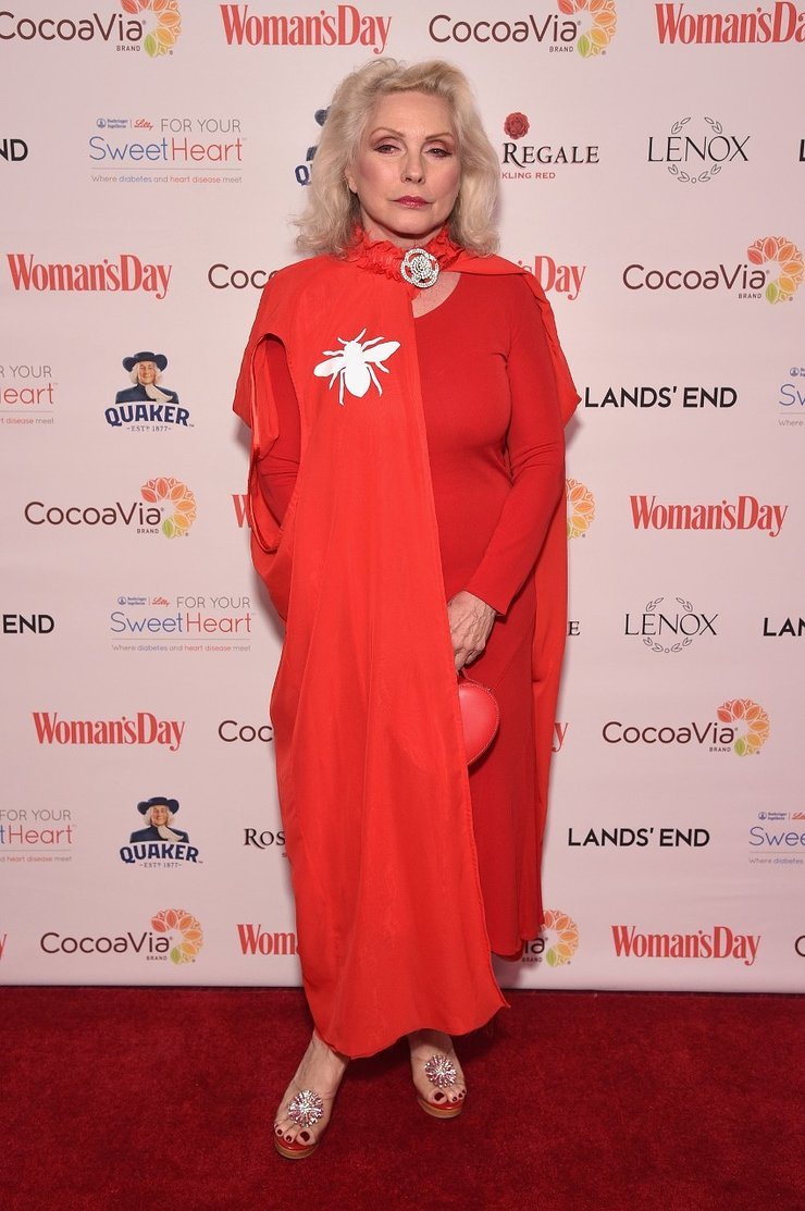 Debbie Harry at 15th annual Woman's Day Red Dress Awards