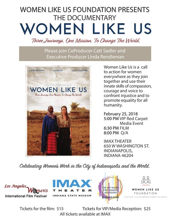 Women Like Us, Three Journeys. One Mission. To Change the World
