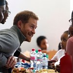 Prince Harry Visits Fit And Fed Activity Programme