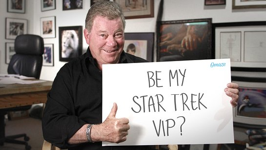 Join William Shatner at Star Trek Convention
