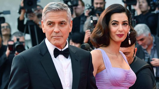 George and Amal Clooney donated $500,000 in the names of their children, Ella and Alexander.
