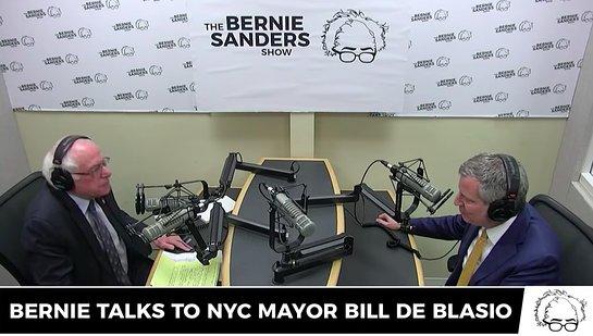Bill de Blasio on The Bernie Sanders Show