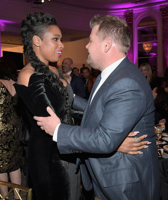 James Corden and Jennifer Hudson