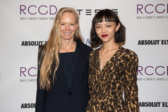 Suzy Amis Cameron and Rila Fukushima