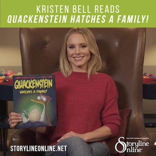 Kristen Bell Reads Quackenstein