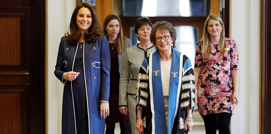 Duchess of Cambridge At RCOG