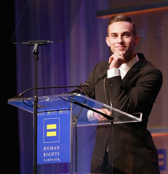 Visibility Award Recipient Adam Rippon