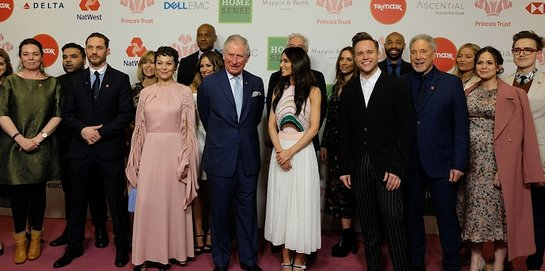 Stars Join Prince Charles at The Prince's Trust Awards 2018